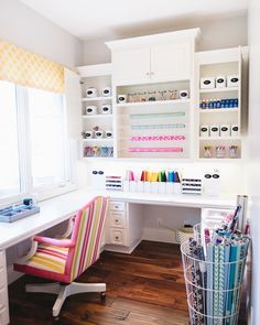 NEAT Method- organized crafts, diy ideas, arts and crafts, art supplies, art supplies storage, organized spaces, organized supplies, colorful spaces, design ideas, design inspiration, décor, craft room, functional craft storage, craft supplies storage, bright colors