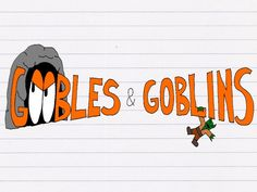 Goobles & Goblins is a pen-and-paper role-playing game designed for adults to play with kids!