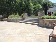Patio Stone Walls Design Ideas, Pictures, Remodel, and Decor - page 11