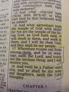 You my brother and you my sister are the sons and daughters of the Most High God...COME OUT OF THE STRANGE PRACTICES OF AMERICA AKA BABYLON.Scripture here from: 2Corinthians 6:16-18