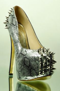 Python pumps with spikes....sweet!