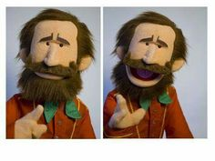 Jim Henson puppet - Jarrod Boutcher Puppets Puppet Toys, Marionette Puppet, Sock Puppets, Puppet Show, Hand Puppets, Finger Puppets, Jim Henson Puppets, Puppetry Theatre, Types Of Puppets