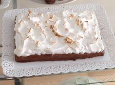Torta de Mousse de chocolate y merengue  by #Mufflinks. Pedidos mufflinks@yahoo.com