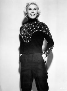 Doris Day.........Get a load of this outfit.