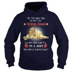 Afghan Hound My Mom Sad An Afghan Hound Dog I Am A Baby