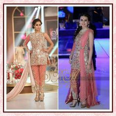 "From Ramp to Reality !!! Bisma looks absolutely ravishing wearing an outfit from our ""Blooming Rose of Eve's Garden"" collection. #sararohaleasgharofficial #sra #sararohaleasghar #pink #bloomingroseofevesgarden #latestcollection #fashion #formals #weddingwear #clientdiaries #spotted"
