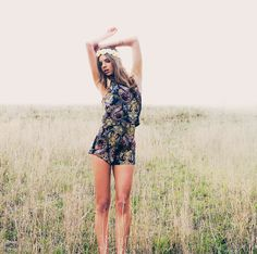 Paisley cami + shorts All About Eve #allabouteveclothing#boho#style