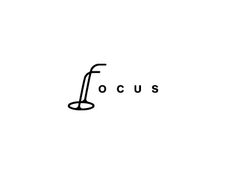 "Brilliant integration of a monocle creating the letter ""F"" in ""Focus"" - designed by Srdjan Kirtic, Serbia"
