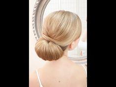 ▶ Wedding hair video - smooth lowdo - YouTube