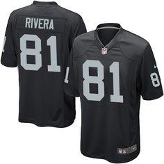 7 Authentic Mychal Rivera Jersey: Raiders Big & Tall Elite Limited ...