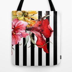 Buy FLORA BOTANICA | stripes by Cheryl Daniels as a high quality Tote Bag. Worldwide shipping available at Society6.com. Just one of millions of products available.