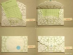 Step by step guide to doily invite | Flickr - Photo Sharing!