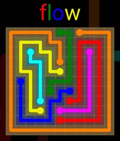 Flow Extreme Pack 2 - 11x11 - level 13 solution