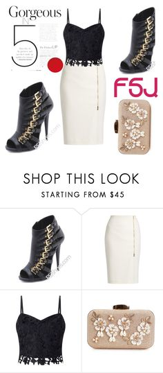 """""""FSJ Shoes"""" by fatimka-becirovic ❤ liked on Polyvore featuring MaxMara, Lipsy and fsjshoes"""