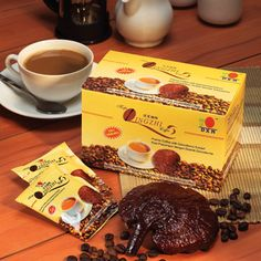 DXN Lingzhi Coffee 3 in 1 is specially blended with finest quality A1 Brazillian coffee beans and 100% pure Lingzhi with no artificial colouring, flavoring and preservatives.  It's an alkaline coffee that can be taken on an empty stomach. Get your this product in distributor price with my Sponsor code: 141138329