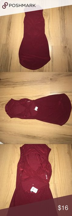 Windsor dress burgundy size large super cute! Windsor dress brand new with tags size large ❤️ Windsor Dresses