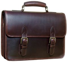 Custom Hide Organizer Briefcase