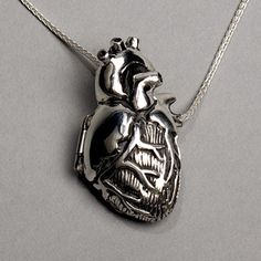 The inside of the locket is anatomical too... awesome!