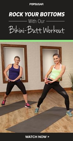 Rock Your Bottoms With Our Bikini-Butt Workout