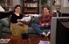"""Jerry: """"I've never fixed anybody up."""" Elaine: """"Me neither, and I'm not about to start with George."""""""