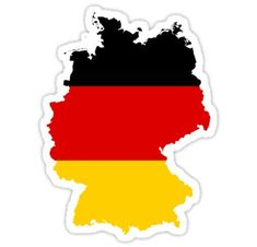 Germany Map Flag car bumper sticker decal x Car Bumper Stickers, Instagram Highlight Icons, Travel Scrapbook, Sticker Design, Decals, Germany, Flags, Countries, Ebay