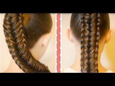 Kiểu tết tóc xương cá đẹp dành cho tóc dài