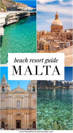 Where to Stay on Malta: Ultimate Beach Resort Guide. Here's a comprehensive overview of where to stay in the beautiful Mediterranean country of Malta: including which island to choose, a breakdown of cities and beach resorts; the best hotels, and where to find those elusive sandy beaches. #malta #gozo #comino #europe #travel #beach #tmtb Top Travel Destinations, Europe Travel Tips, European Travel, Places To Travel, Travel Pics, Malta Travel Guide, Travel Ideas, Malta Beaches, Viajes
