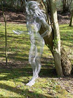 Nikki Taylor Commissions gallery is part of Wire art sculpture - Chicken Wire Art, Chicken Wire Sculpture, Wire Art Sculpture, Wire Sculptures, Elfen Fantasy, Fantasy Art, Outdoor Art, Oeuvre D'art, Installation Art