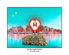 The Red Light District © John Slater Studio