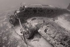 JU-52, at the bottom of the Mediterranean Sea