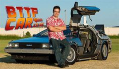 BTTF Car Delorean Hire Delorean Time Machine with Gary Weaver the Real Doc Brown of Delorean Time Machine Building