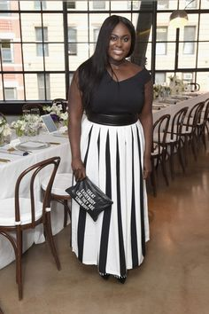 Splurge: Danielle Brooks's Glamour and Facebook Election 2016 Luncheon Chelsea…
