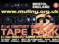 Nicky Blackmarket Mutiny Drum & Bass 2000