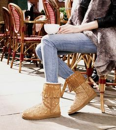 UGG Short Jimmy Choo 3044 Black Boots