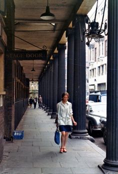 Covent Garden, London, 1973