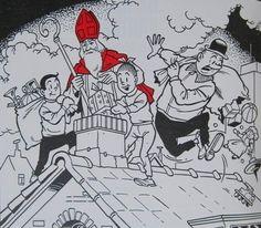 Nero / Suske en Wiske - De beste kartoens van Sinterklaas - (1980), Willy Vandersteen - Marc Sleen - Karel Biddeloo