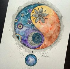 Possible water painting tattoo? Inlove with this drawing