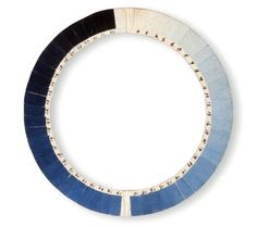 a cyanometer - an instrument to measure the blue of the sky. invented 1789 by Swiss physicist Horace-Bénédict de Saussure.
