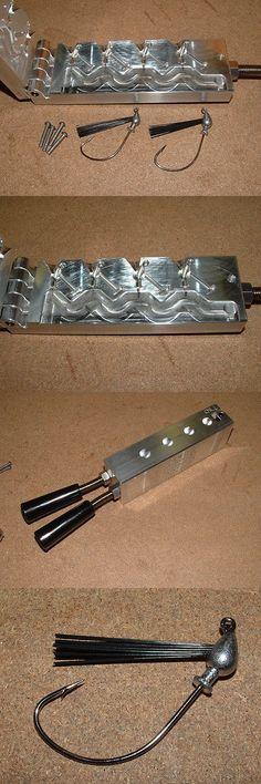 Tackle Craft 165931: Freshwater Egg Weedless Jig Mold 1 8, 1 4Oz Cnc Aluminum Swim Jig -> BUY IT NOW ONLY: $125 on eBay!