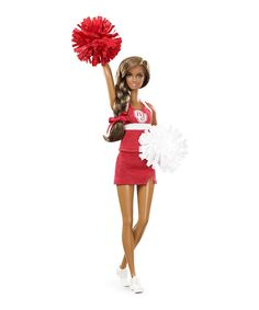 Love this Oklahoma Sooners Barbie Doll by Barbie on #zulily! #zulilyfinds