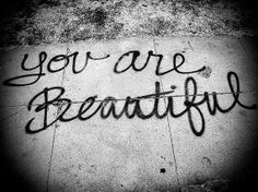 You Are Beautiful  Graffiti Street Art  8x10 Photo by dhunting, $28.00