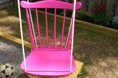 DIY Chair Tree Swing | The Owner-Builder Network