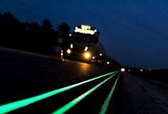 Les autoroutes se mettent à briller avec Glowing Lines