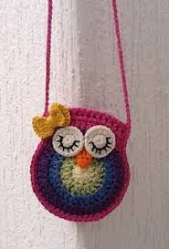 Resultado de imagem para tutorial or pattern for little girls crochet purse/bag