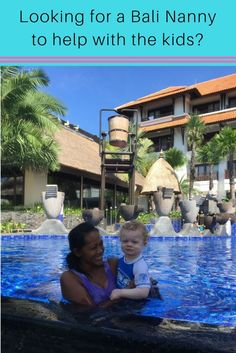 Nannies in Bali can make your family holiday even better. Here we share our Bali nannies details and how they help us to enjoy our Bali holidays Bali With Kids, Travel With Kids, Family Travel, Bali Family Holidays, Bali Accommodation, Hotels For Kids, Kids Things To Do, All Family, Bali Travel