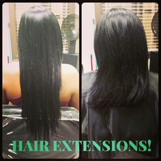 Need to add some length? Ask about Hair extensions.