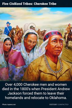 Five Civilized Tribes: Cherokee Tribe