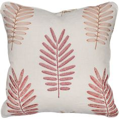 Ferndown Red Scatter Cushion