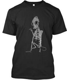 Awesome Limited-edition Cat Skelethal Shirt   Skelethal Design