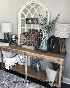 39 rustic farmhouse living room design and decor ideas for your home Country Farmhouse Decor, Farmhouse Style Kitchen, Modern Farmhouse Kitchens, Industrial Farmhouse, Industrial Metal, Farmhouse Design, Vintage Industrial, Farmhouse Living Room Decor, Industrial Stool